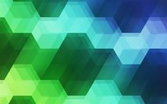 Download wallpapers hexagons, 4k, geometry, colorful spectrum, creative