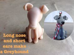 I have been working on polymer clay sculpted dog breeds. Polymer Clay Cat, Polymer Clay Ornaments, Clay Cats, Greyhound Art, Fondant Animals, Dog Cakes, Mum Birthday, Grey Hound Dog, Air Dry Clay