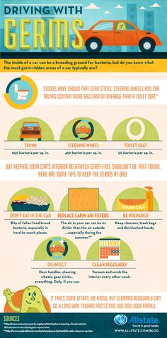 Infographic: Driving with Germs