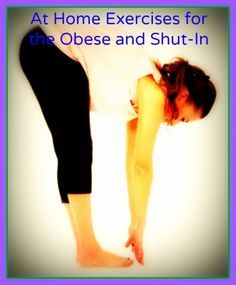 At Home Exercises for the Obese and Shut-In