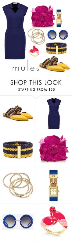 """""""Untitled #82"""" by lucia-khewhedinoh-marchi ❤ liked on Polyvore featuring Malone Souliers, Halston Heritage, Roksanda, Nancy Gonzalez, ABS by Allen Schwartz, Tory Burch, Dolce&Gabbana and Kate Spade"""