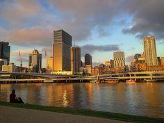 Golden Brisbane at the sunset  #southbank #brisbane #qldlife #australia #sunset #ig_australia #igersaustralia #traveladdict #travelphotography #travel #photooftheday #picoftheday #pictureoftheday #daily #dailypic #dailypicture #dailyphoto #instadaily #iphone #iphone6plus #iphoneography #iamwhatisee #isabelnolascophotography
