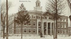 Monmouth College English Department and some of the Admin offices. This was the coolest building, it had a basement and a sub basement that very few ever saw. Monmouth College, College Fun, Offices, Basement, Woods, Babe, Party Ideas, English, Future