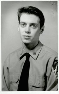 rare089.  Steve Buscemi during his days as a New York firefighter.  (1976)