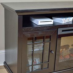 <3 Hazelwood Electric Fireplace Media Console <3