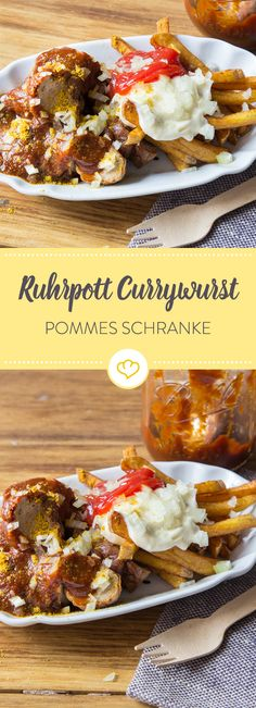 Es geht doch nichts über eine echte Ruhrpott Currywurst mit Mayo und Ketchup. Egal ob als Snack oder zur nächsten Gartenparty. Curry Schranke schmeckt immer