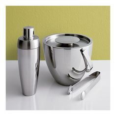 Coctail Shaker and Ice Bucket