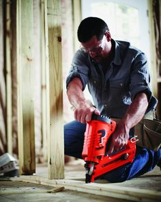 Nail gun home projects