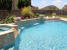 Contemporary Swimming Pools Design 143 — Custom Outdoors