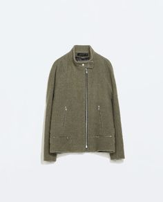 ZARA - WOMAN - JACKET WITH BUCKLED STRAP ON THE COLLAR