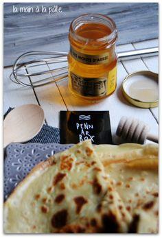 Recette de crêpes au cidre et miel de Bretagne avec un temps de repos d'une heure.