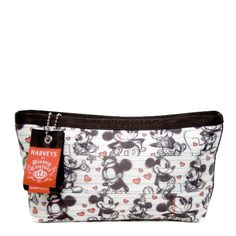 Amazon.com: Harveys Seatbelt Bag Large Makeup Case Disney Mickey and Minnie Mouse in Love: Clothing