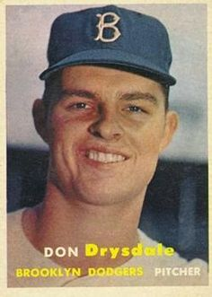 18 - Don Drysdale RC - Brooklyn Dodgers