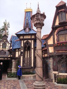 Rapunzels Tower at Fantasy Faire