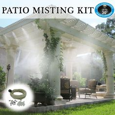 Diy patio mister patio cool kit do it yourself misting systems patio misting kits by utilizing different types of materials and rock you are able to build any selection of beautiful solutioingenieria Choice Image