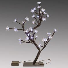Cherry Blossom Tree Light Centerpieces by SmartyHadAParty.com!