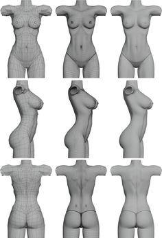 Female model (nudity)