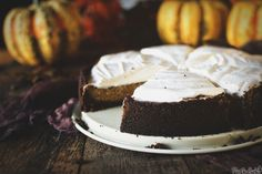 Sweet Potato Pie with Gingersnap Crust and Meringue