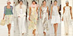 Ralph Lauren, Spring Summer 2012. Alternative Glamorous alternatives to a Wedding dress...the full collection is to-die-for!