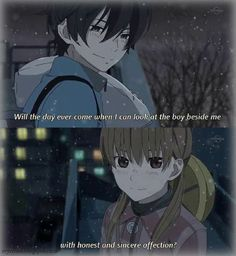 "This is from the anime ""My Little Monster."" The couple in the picture is Haru Yoshida and Shizuku Mizutani. Shizuku And Haru, Shizuku Mizutani, My Little Monster, Little Monsters, I Love Anime, Me Me Me Anime, Haru Yoshida, Otaku, Kaichou Wa Maid Sama"