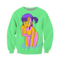 Dragon Ball Z Bulma Crew Neck