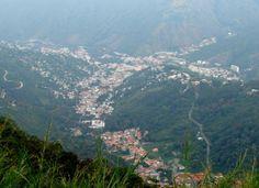 Vista aérea de Trujillo, estado Trujillo