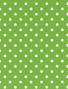 Green Polka Dot wallpaper from the Belle Rose collection