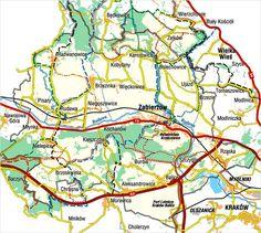 Zabierzów i okolice -szlaki