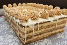 Torte Recepti, Kolaci I Torte, Sweet Recipes, Cake Recipes, Dessert Recipes, Torta Recipe, Croatian Cuisine, Torte Cake, Savarin