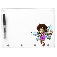 Chibi Love Fairy Dry Erase Whiteboards     #fairy #backtoschool #office #zazzle