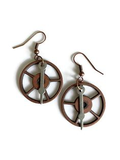 We recycle and re-purpose found items from all over the world into unique, one-of-a-kind jewelry & accessories. It's a Steampunk + adventure lifestyle!  Papercranest.com