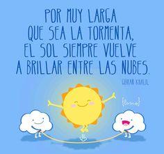 A sweet quote for teaching the subjunctive in Spanish: Por muy larga que + el subjuntivo de ser | #citas