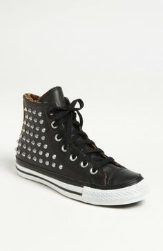 low priced caefd 83e1d Converse Chuck Taylor All Star Studded High Top Sneaker