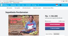 Donasimu melalui gerakan sepakbola sosial Uni Papua menjamin cerahnya masa depan Indonesia. https://kitabisa.com/sepakbolaperdamaian -AH-