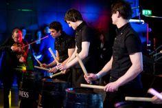 Celtic Drummers in Kilts, Ireland