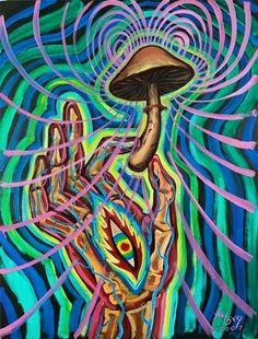 The powers of mushrooms