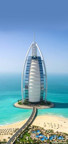 Burj al Arab, 321m, 1999, Dubai, EAU