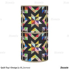 Quilt Top 7 Design Flameless Candle