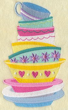 Great for High Tea Apron or table cloth
