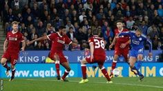 Islam Slimani's goal was his third of the season  Islam  Slimani's superb strike helped Leicester see off a wasteful Liverpool  at the King Power Stadium to reach the fourth round of the Carabao Cup.  The Algeria striker's left-footed shot found the top corner after substitute Shinji Okazaki had put the Foxes ahead. That came after Liverpool had dominated a first half in which Philippe Coutinho impressed before being replaced. Okazaki's arrival sparked the Foxes into life and he latched on…