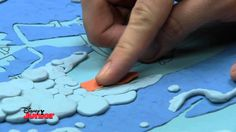 Art Attack - 'Surfs Up!' - Colour With Modelling Clay!