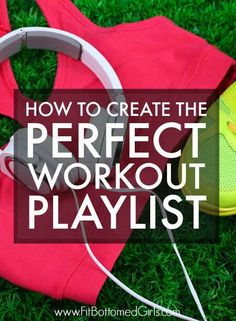 There's an art to making the perfect workout playlist -- and we've perfected it!