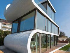 Curved house on Lake Zürich, Switzerland - Grand Designs Magazine