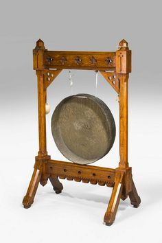19th Century Oak Framed Gong (Ref No. 313) - Windsor House Antiques