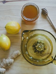 lemon, honey, ginger healer..