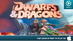 Dwarfs & Dragons - Free On iOS - Gameplay Trailer