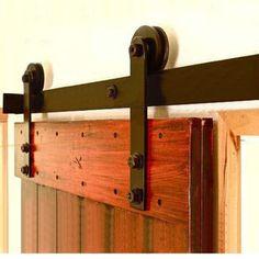 Schiebetüren Beschläge Schiebetürsystem Aufhänger Raumteiler Ausstattung 183cm in Heimwerker, Fenster, Türen & Treppen, Sonstige   eBay!