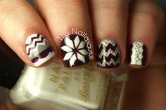 The Nailasaurus | UK Nail Art Blog: Blanket Case Nail Patterns, White Patterns, Pattern Nails, Uk Nails, Nail Art Blog, Lady Fingers, Girly Things, Nail Polish, Sparkle