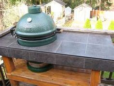 Big Green Egg Table  For our EGG