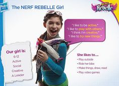 Finally a nerf toy for girls! Wish this was around when we were younger...http://renegadechicks.com/nerf-rebelle-hasbros-new-line-of-toys-for-girls/#sthash.tBK6ecGm.dpbs